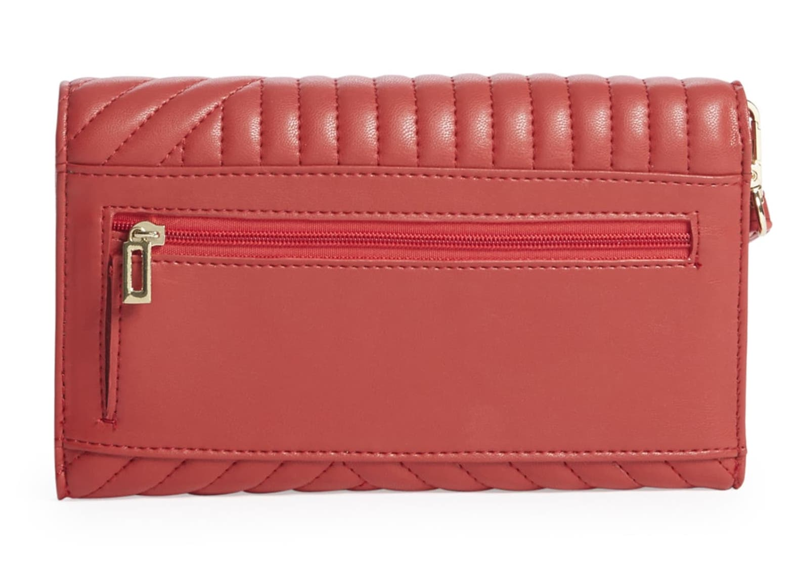 Guess Anthonia Quilted Clutch Wallet
